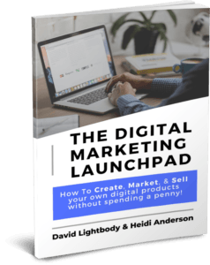 Book Cover - Digital Marketing Launchpad