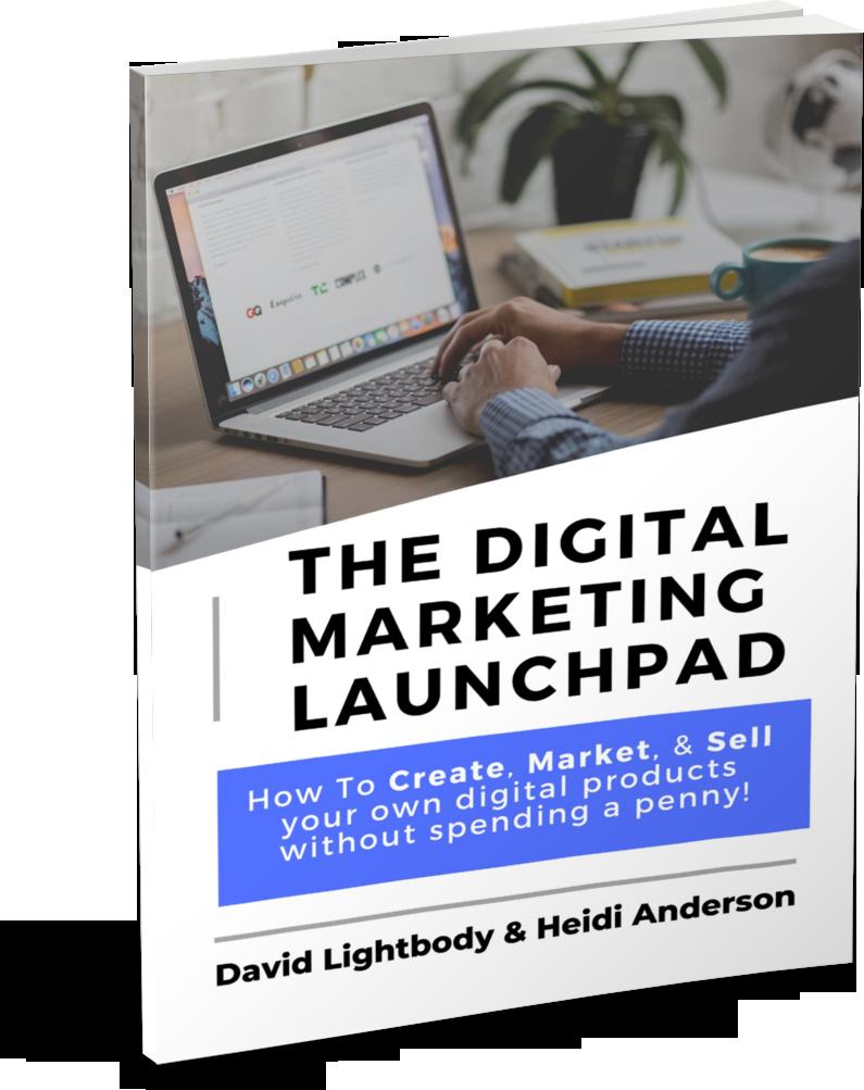Book Cover - Digital Marketing Launchpad